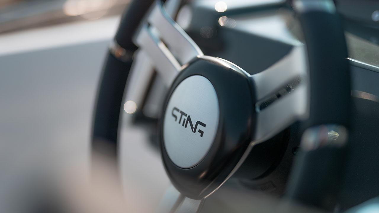 Sting 530S details - steering wheel